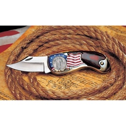 American Coin Treasures Standing Liberty Silver Quarter Pocket Knife