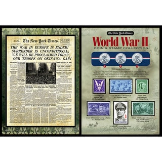 American Coin Treasures The New York Times World War II Coin & Stamp Collection