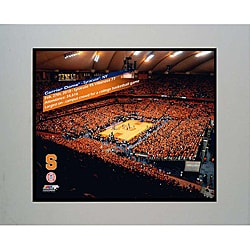 Syracuse University Carrier Dome Matted Ready-to-frame Photo