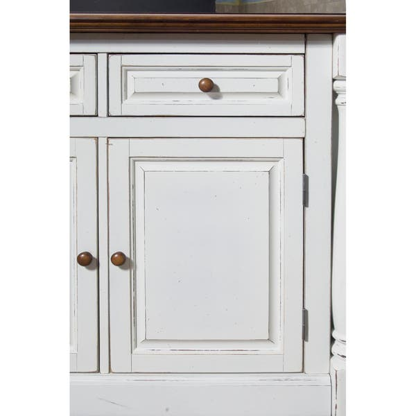 Sensational Monarch Antiqued White Kitchen Island With Granite Top By Home Styles Andrewgaddart Wooden Chair Designs For Living Room Andrewgaddartcom