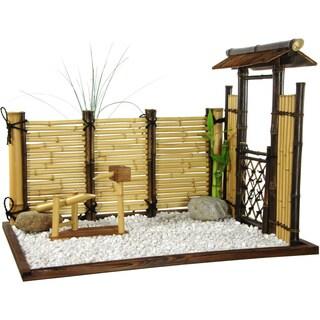 Handmade Zen Bamboo Mini Garden (China)