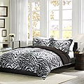 Comfort Classic Zebra Twin-size 2-piece Down Alternative Comforter and Sham Set