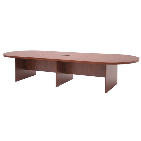 Regency Seating Modular Race Track Conference Table with Power/Data Grommet