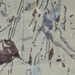 Safavieh Handmade Deco Art Grey New Zealand Wool Rug (8'3 x 11')