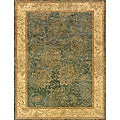 Evan Blue/ Beige Transitional Area Rug - 9'3 x 13'3