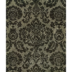 Evan Gray/ Gray Transitional Area Rug (9'3 x 13'3)