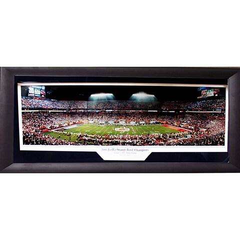2006 Orange Bowl Champions Penn State University Panoramic Frame