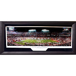 2006 Orange Bowl Champions Penn State University Panoramic Frame