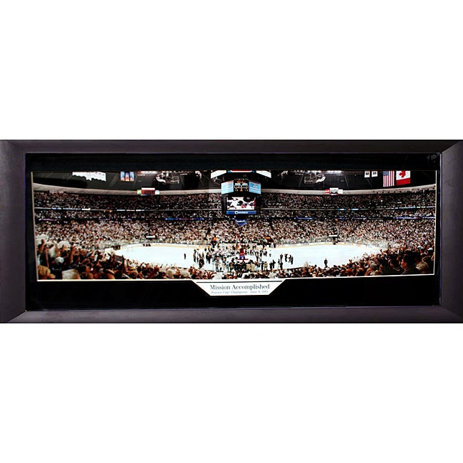 2001 Stanley Cup Champions Colorado Avalanche Panoramic Frame | eBay