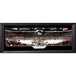 2001 Stanley Cup Champions Colorado Avalanche Panoramic Frame