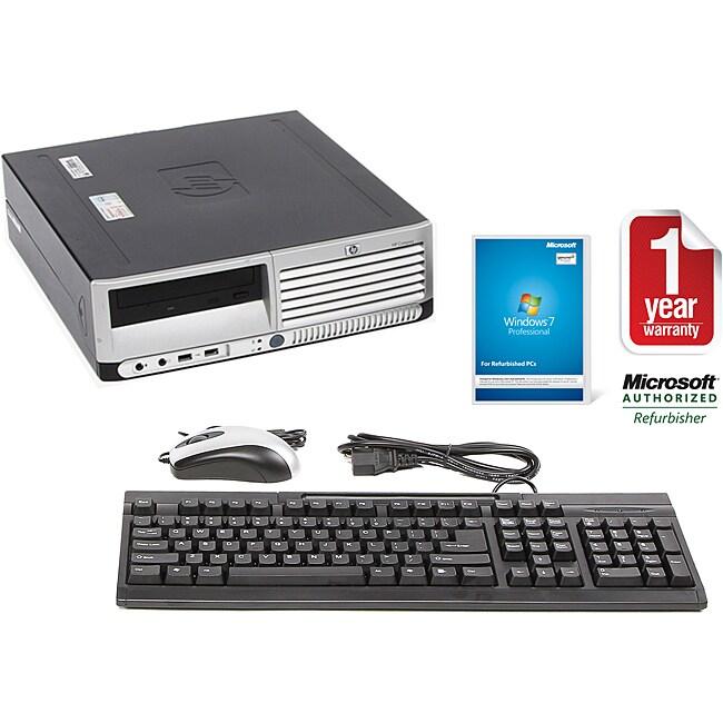HP Compaq DC7700 Intel Core 2 Duo 2.4GHz CPU 4GB RAM 1TB HDD Windows 10 Pro Small Form Factor Computer (Refurbished)