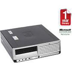 HP Compaq DC7700 Intel Core 2 Duo 2.4GHz CPU 4GB RAM 1TB HDD Windows 10 Pro Small Form Factor Computer (Refurbished) - Thumbnail 1