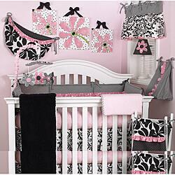 Cotton Tale Girly 8-piece Crib Bedding Set