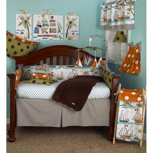 Cotton Tale Aye Matie 4-piece Crib Bedding Set