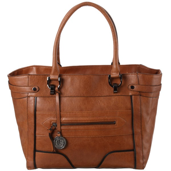 London Fog 'Ashford' Distressed Tote Bag