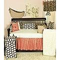 Cotton Tale Raspberry Dot 8-piece Crib Bedding Set