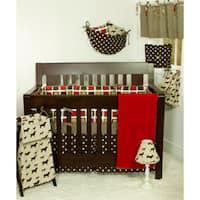 Cotton Tale Houndstooth 8-piece Crib Bedding Set