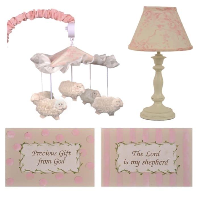 Cotton Tale Heaven Sent Girl Decor Kit