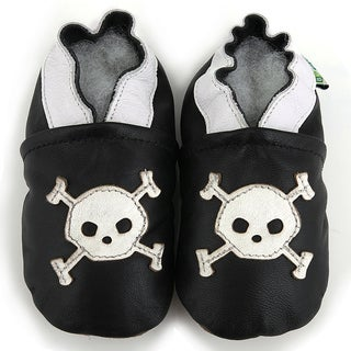 Augusta Baby Skull Soft Sole Leather Shoes (2 options available)