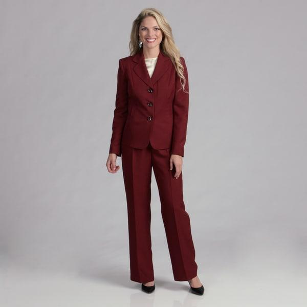 Evan Picone Women's Garnet Pant Suit