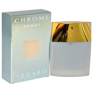 Loris Azzaro Chrome Sport Men's 1.7-ounce Eau de Toilette Spray