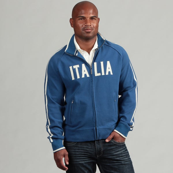 Blue Marlin Men's Italia Rib Track Jacket FINAL SALE