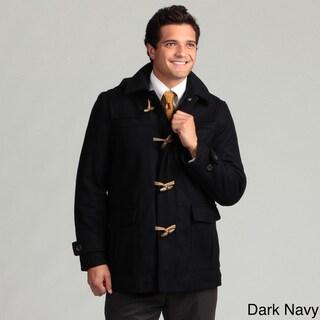 Nautica Men's Charcoal Wool Toggle Coat