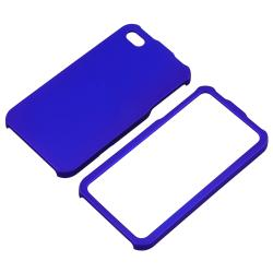 BasAcc Dark Blue Snap-on Rubber Coated Case for Apple iPhone 4/ 4S - Thumbnail 1