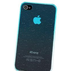 BasAcc Clear Sky Blue Water Drop Snap-on Case for Apple iPhone 4/ 4S - Thumbnail 2