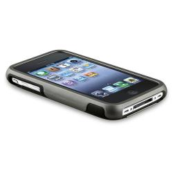 INSTEN Grey Cup Shape Rubber Coated Phone Case Cover for Apple iPhone 3G/ 3GS