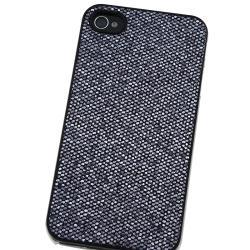 INSTEN Black Bling Snap-on Phone Case Cover for Apple iPhone 4/ 4S - Thumbnail 2