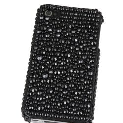 INSTEN Black Diamond Snap-on Phone Case Cover for Apple iPhone 4/ 4S - Thumbnail 2