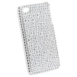 BasAcc Silver Diamond Snap-on Case Version 2 for Apple iPhone 4/ 4S - Thumbnail 1