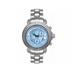 Joe Rodeo Women's Rio Blue Mother-of-Pearl Dial Diamond Watch