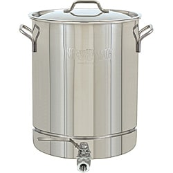 Bayou Classic Stainless Steel Spigot 10-gallon Stock Pot