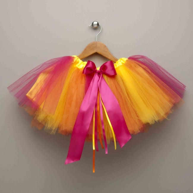 Power Capes Rainbow Sherbet Tutu