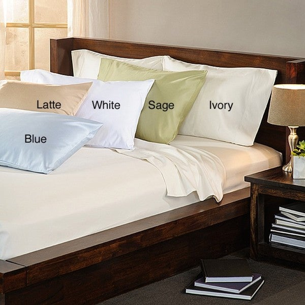 Luxury Estate 100-percent Cotton 1500 Thread Count Standard Pillowcases (Set of 2)