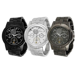Geneva Platinum Men's Chronograph-style Link Watch|https://ak1.ostkcdn.com/images/products/6660367/P14220248.jpg?_ostk_perf_=percv&impolicy=medium