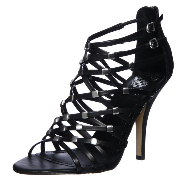 Vince Camuto Women's 'Wendy' Black High Heel Sandals