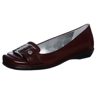 Marc Fisher Women's 'Coiter 2' Red Buckle Slip-on Flats