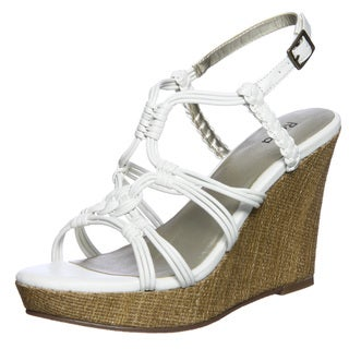 Marc Fisher Women's 'Kemp' Strapped Cork Wedges