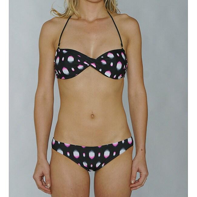 Island World Junior's Black Splash Bikini