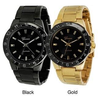 Geneva Platinum Men's Link Watch