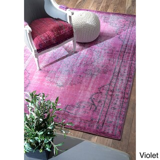 nuLOOM Vintage Inspired Overdyed Rug (8' x 10')