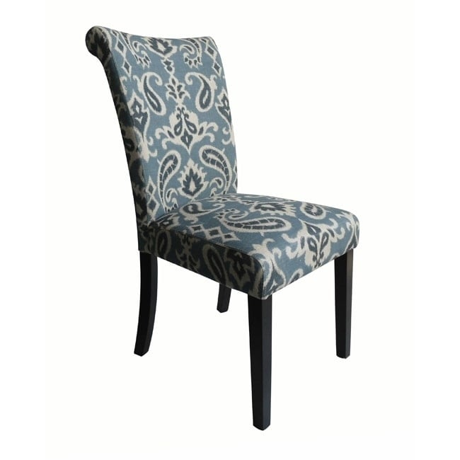 Monsoon Audio Voyage Upholstered Blue Dining Chairs (Set ...