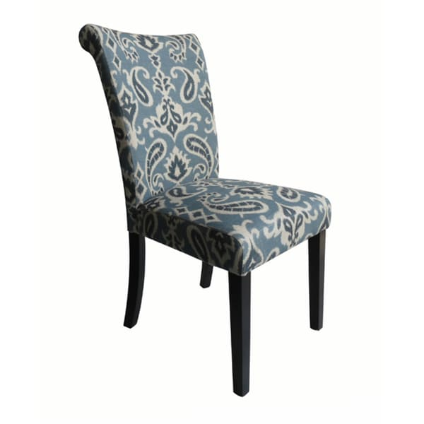 Monsoon Voyage Upholstered Blue Dining Chairs (Set Of 2