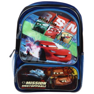 Disney / Pixars 'Cars' Mission Unstoppable 16-inch Two-pocket Backpack