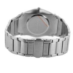 Skagen Men's Stainless Steel Blue Dial Watch - Thumbnail 1