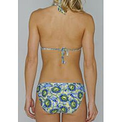 Island Love Women's Blue Floral Bikini