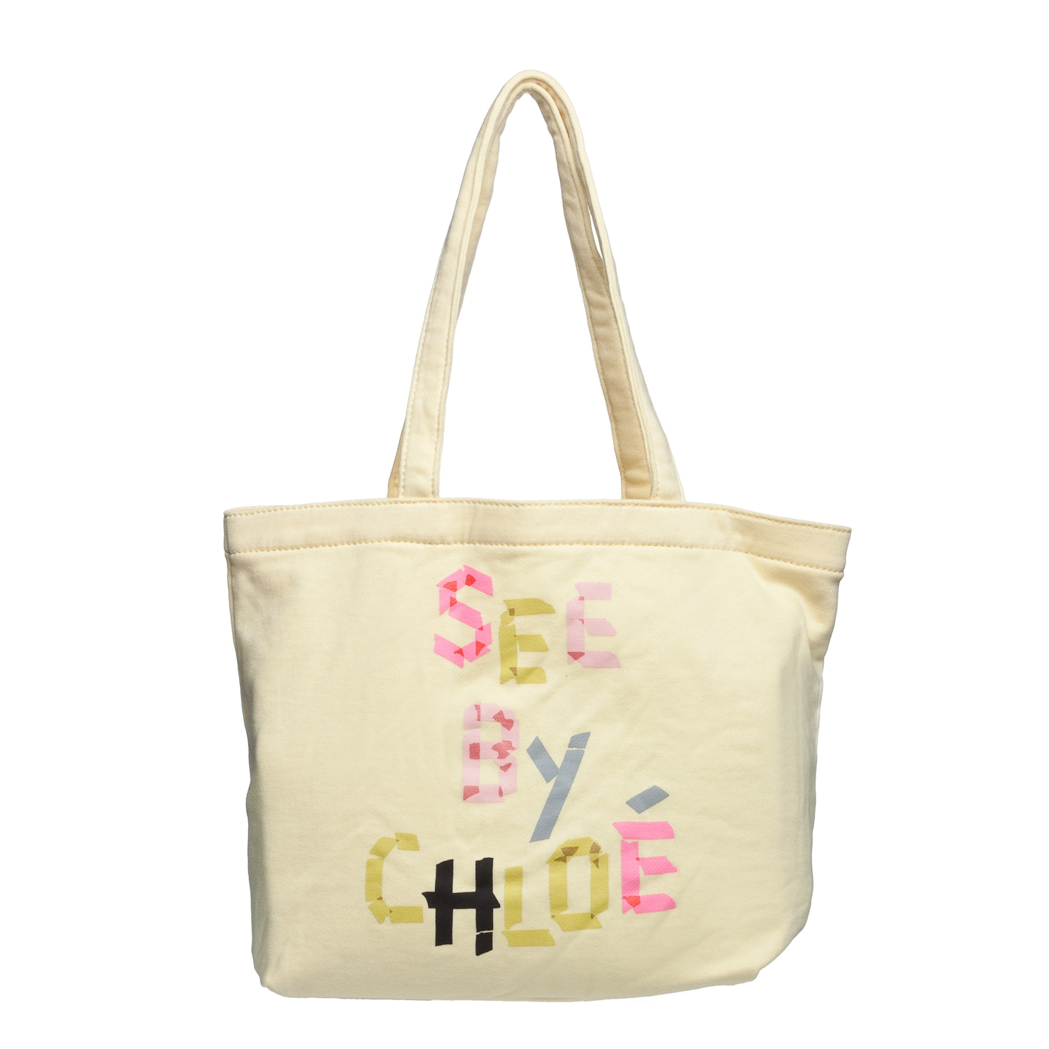 See by Chloe 9S7160 N173 222 Yellow Canvas Tote